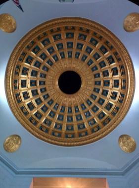 Oak Grove Cemetery mausoleum dome