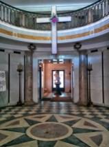 Oak Grove Cemetery mausoleum floor