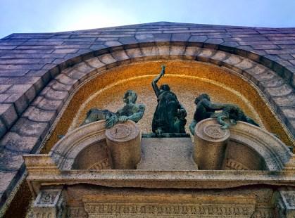 Oak Grove Cemetery mausoleum arch