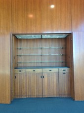 Norman Chandler Pavilion shelving