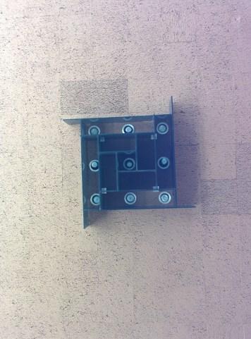 Norman Chandler Pavilion light fixture (off)