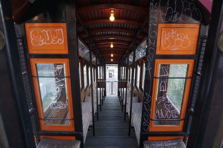 "In early June 2016, ""Saucy"" tagged the Angels Flight car Olivet"