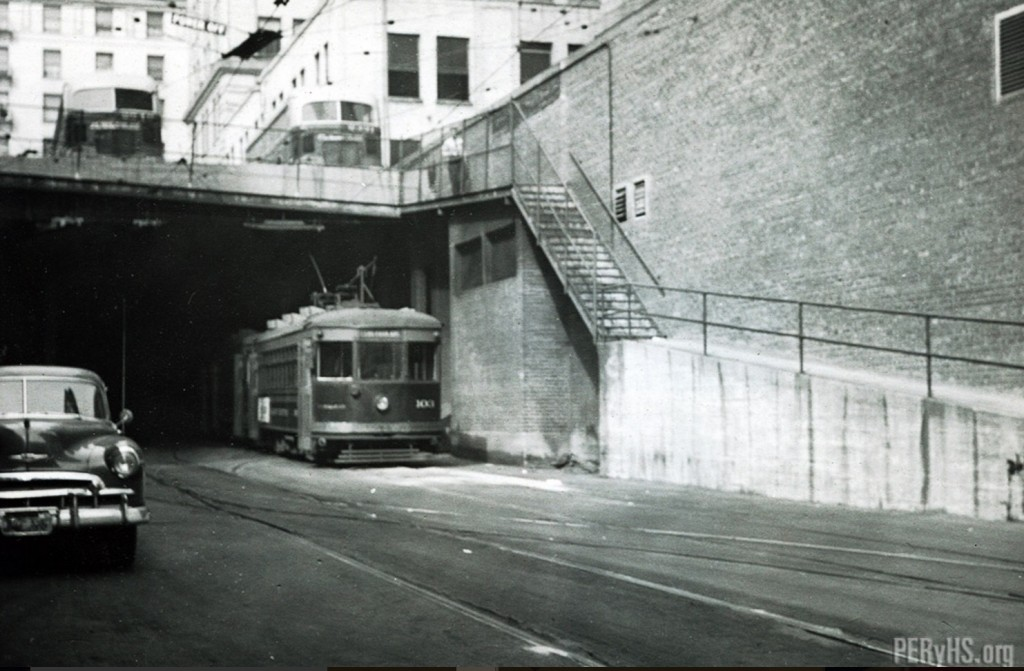 Demolition Comes to the Pacific Electric Railway Company's historic trolley shed
