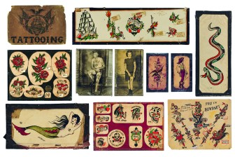 Vintage Tatto Flash