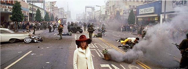 Alex In Wonderland  (1970) - Hollywood Blvd w/ Jeanne Moreau