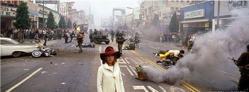 Alex In Wonderland (1970) - Hollywood Blvd with Jeanne Moreau