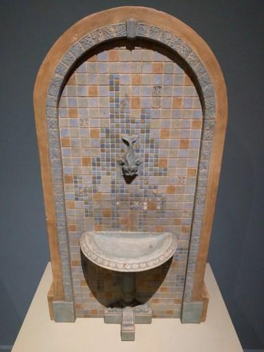 miniature salesman's sample fountain