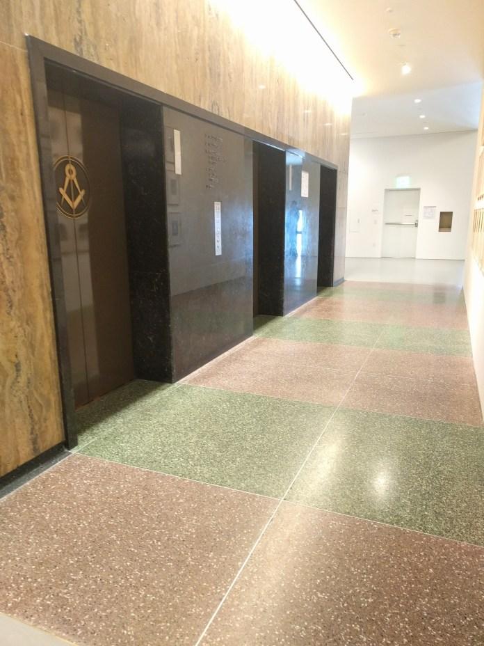 masonic rite elevator bay
