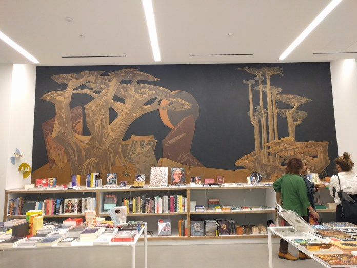 scottish rite bookstore mural