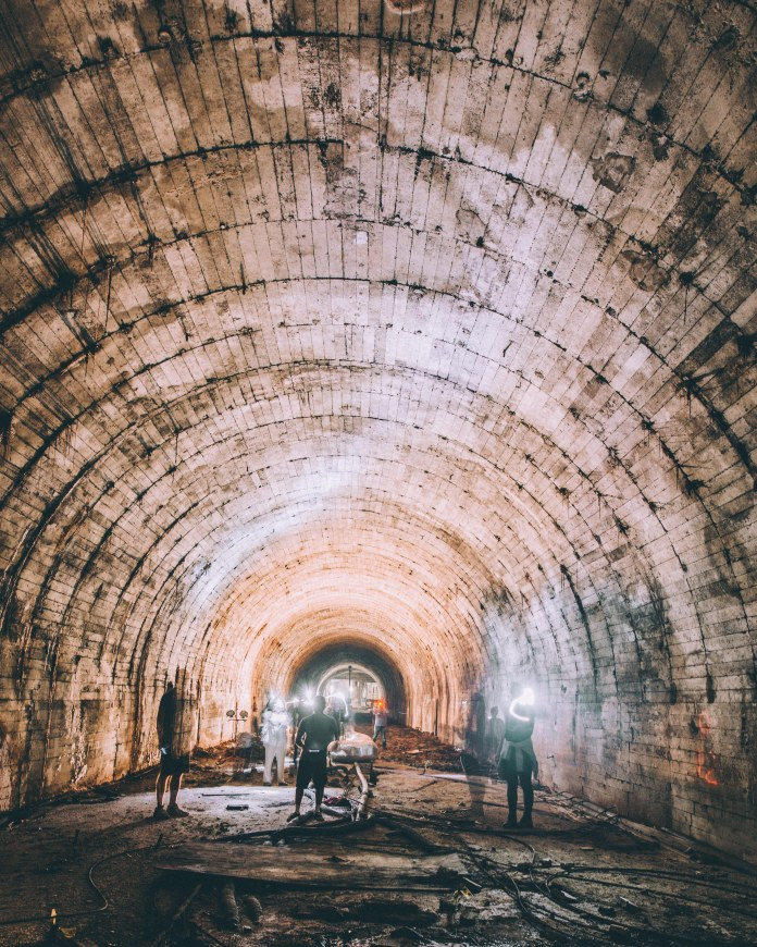 Subway Terminal tunnel on LAVA tour June 2017 by Kemal Cilengir