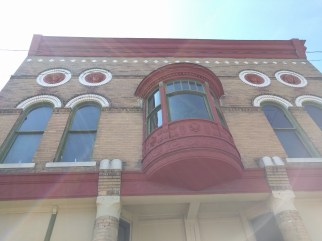 princeton masonic hall bay window and heads