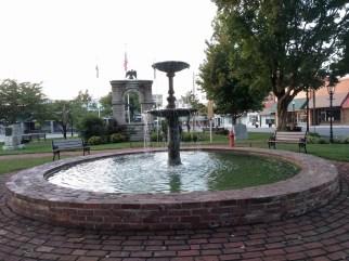 town fountain