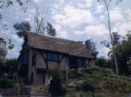 Anthony Family Home on Alta Loma Terrace just before it is demolished.