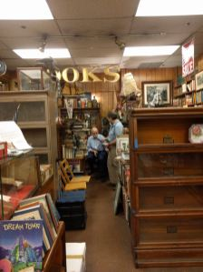 Leonard in his bookshop
