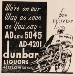 officialcentrala0000cent_0053 dunbar liquors cleaner graphic ad