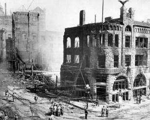 2nd LA Times Building October 1st, 1910