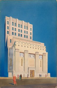 Pacific Stock Exchange (Samuel E. Lunden, architect, John & Donald Parkinson, consulting architects, 1929)
