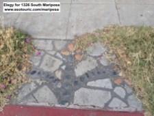 1430 Arapahoe sidewalk stone work