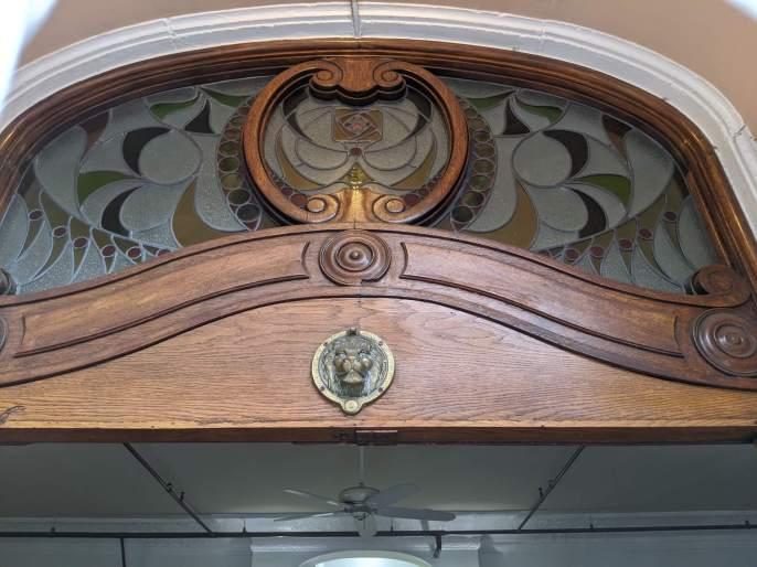 Chalfonte, detail