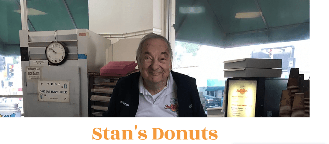 Stan Berman of Stan's Doughnuts