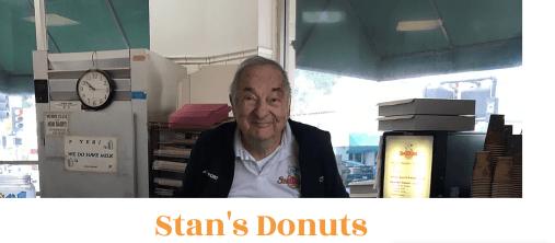 Stan Berman of Stan's Doughnuts