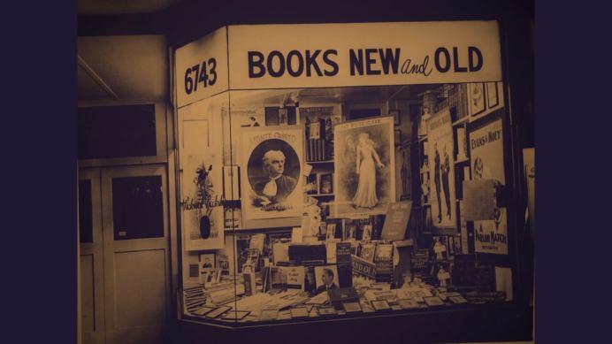 Hollywood Blvd Bookshop At Night