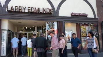 Larry Edmunds Bookshop on Hollywood Blvd