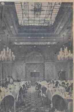 Palm Court, Alexandria Hotel. 1970