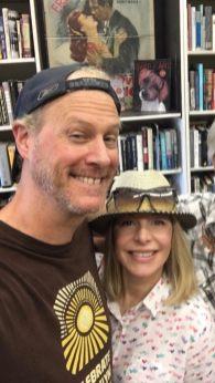 Alison Martino & Jeff Mantor at the current Larry Edmunds Bookshop
