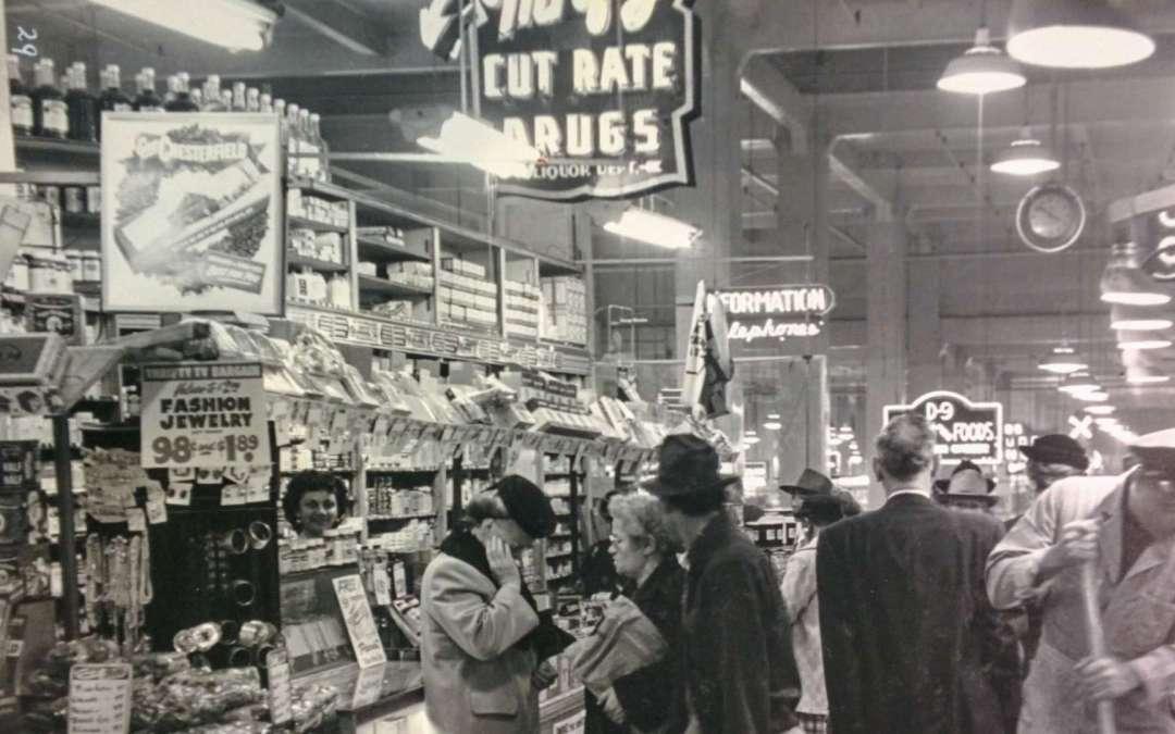 "Esotouric Presents ""A Cultural History of Grand Central Market, 1917-2020"" webinar"