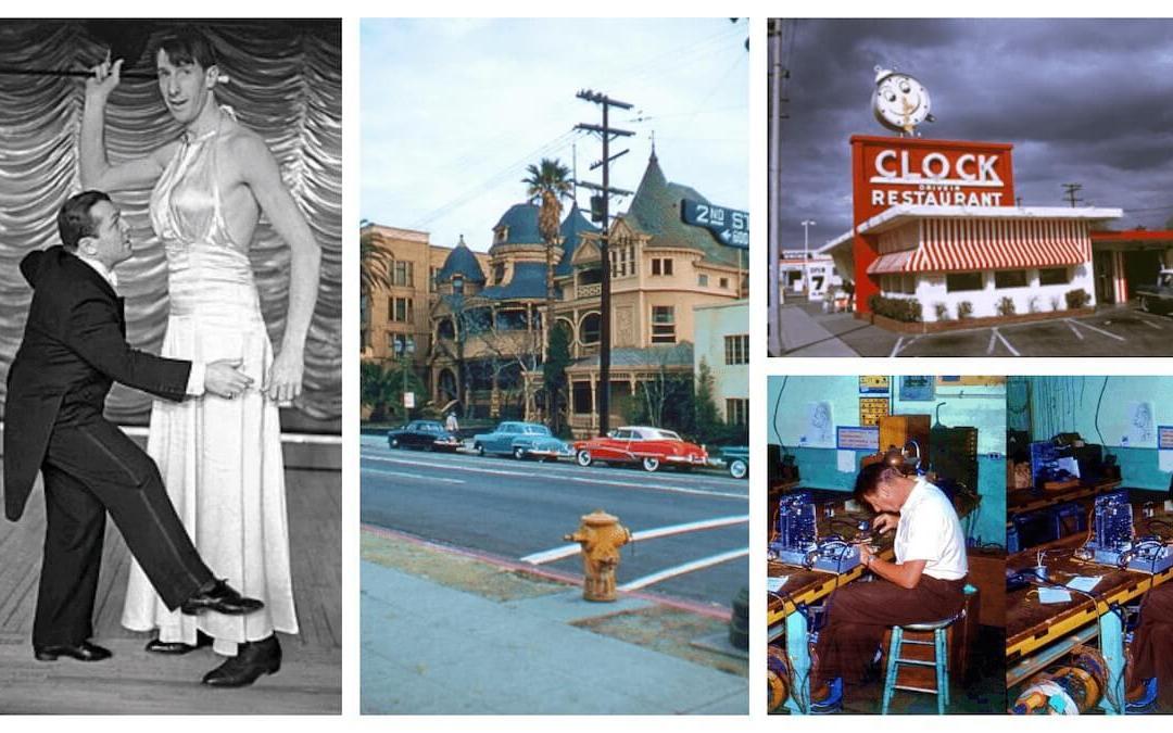 Esotouric Presents George Mann's Fabulous Vintage Views of Los Angeles