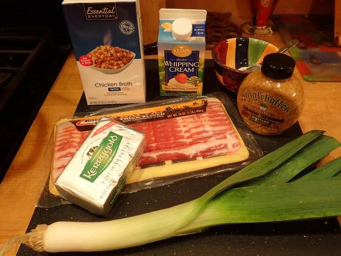 Mustard Soup Ingredients