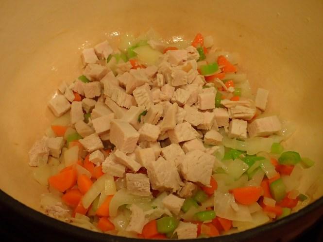 Add turkey