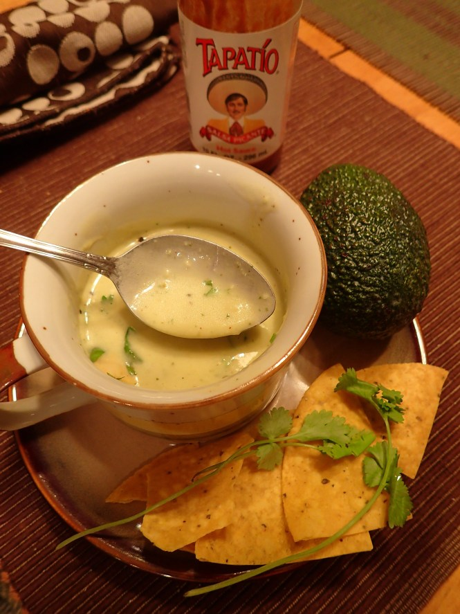 Hot Avocado Soup