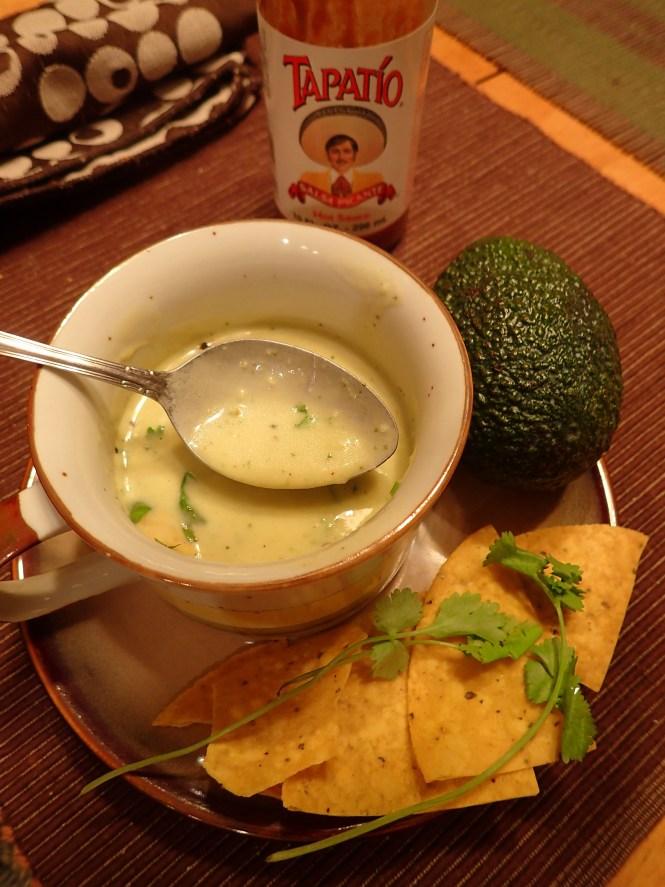 Avocado soup hot esouprecipes hot avocado soup sciox Images