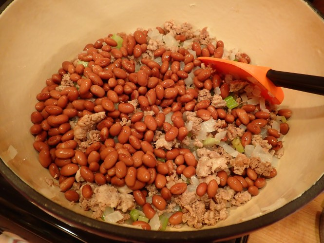 Add red beans