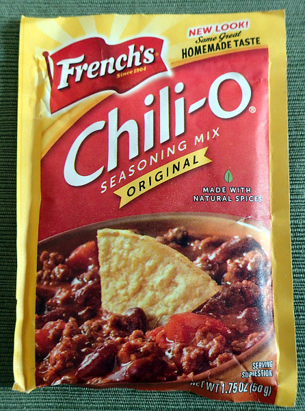French's Chili-O Mix, front