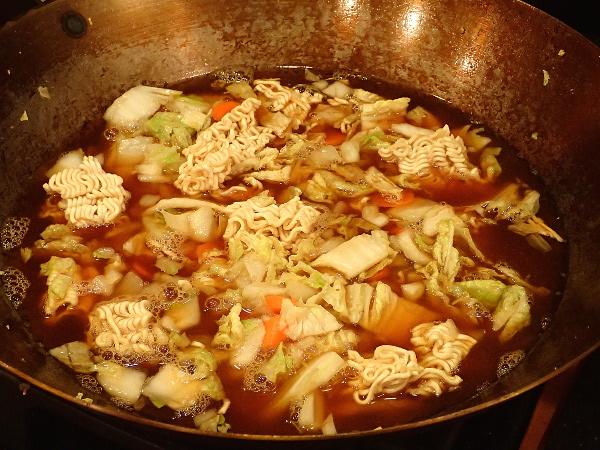 Cook Ramen noodles