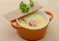 Mashed Potato Ham and Cheese Soup