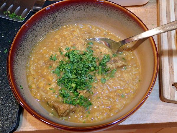 Beef Biryani Soup