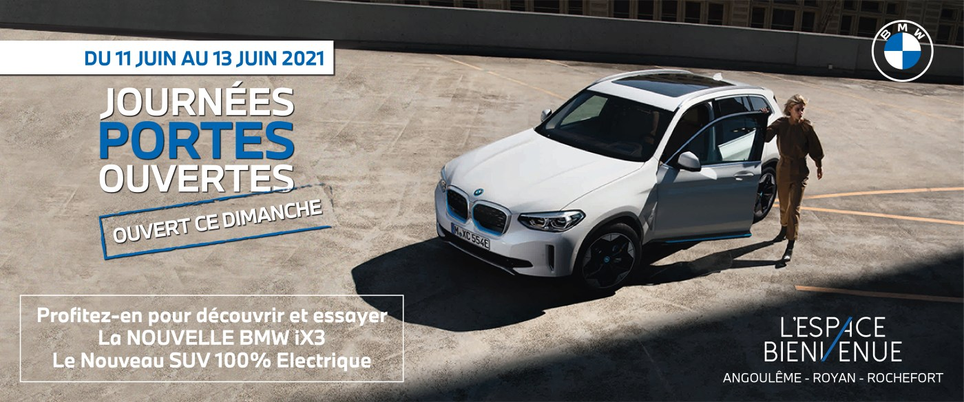 Journées portes ouvertes BMW l'espace bienvenue