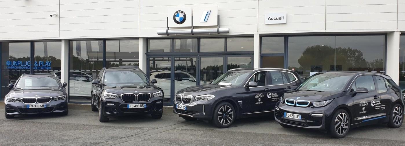 BMW l'Espace Bienvenue partenaire du festival Sœurs Jumelles
