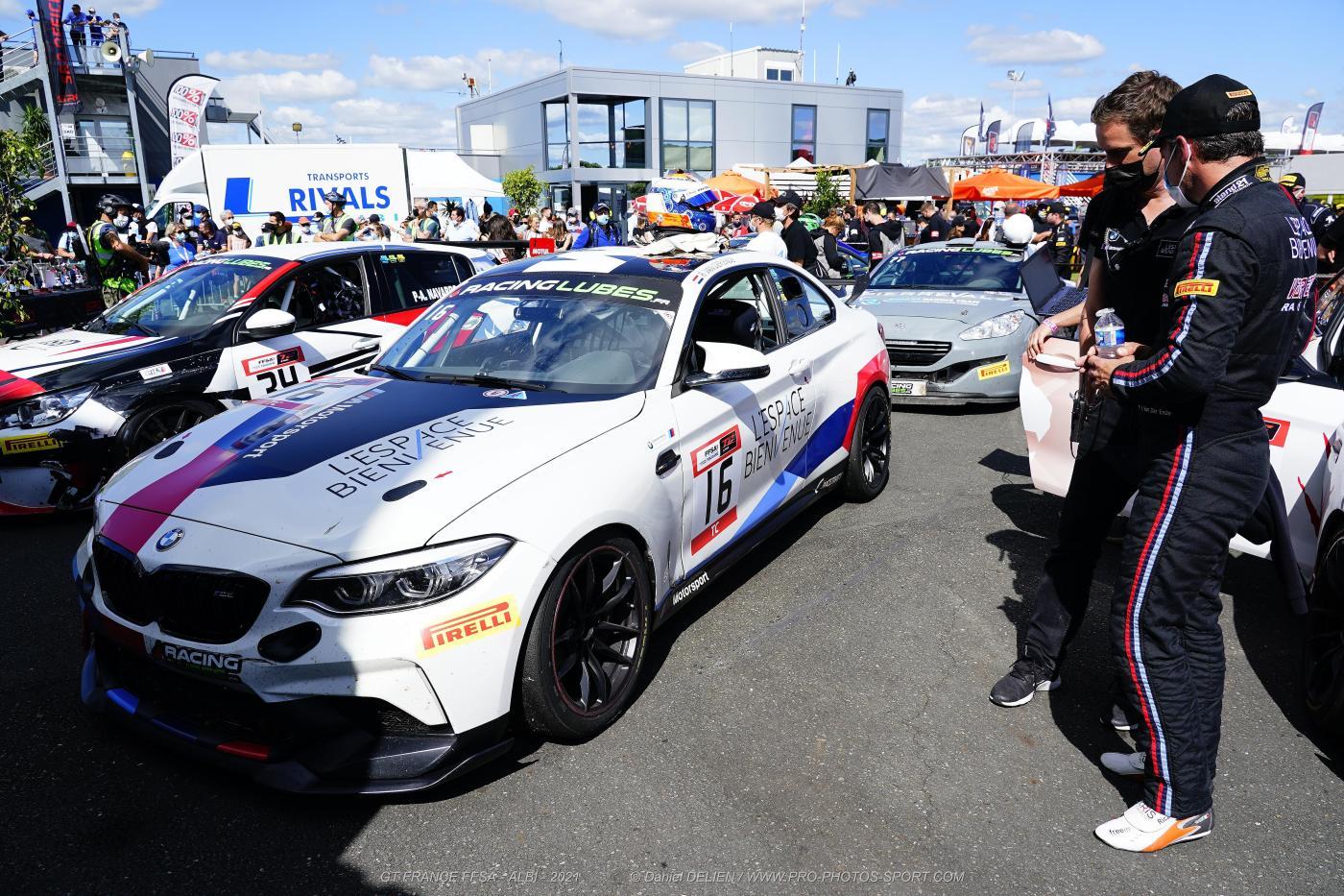 M2 CS Racing TC France Albi