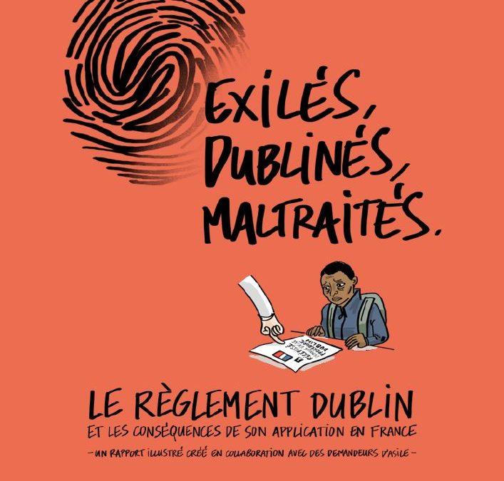 """Publication du rapport dessiné """"Exilés, Dublinés, Maltraités"""" du Secours Catholique … et poursuite du plaidoyer pour une réforme du règlement Dublin"""