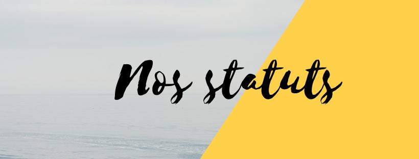Nos statuts