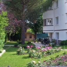 jardin, verdure, centre d'affaires
