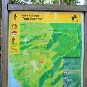 Plan du parcours de la trace