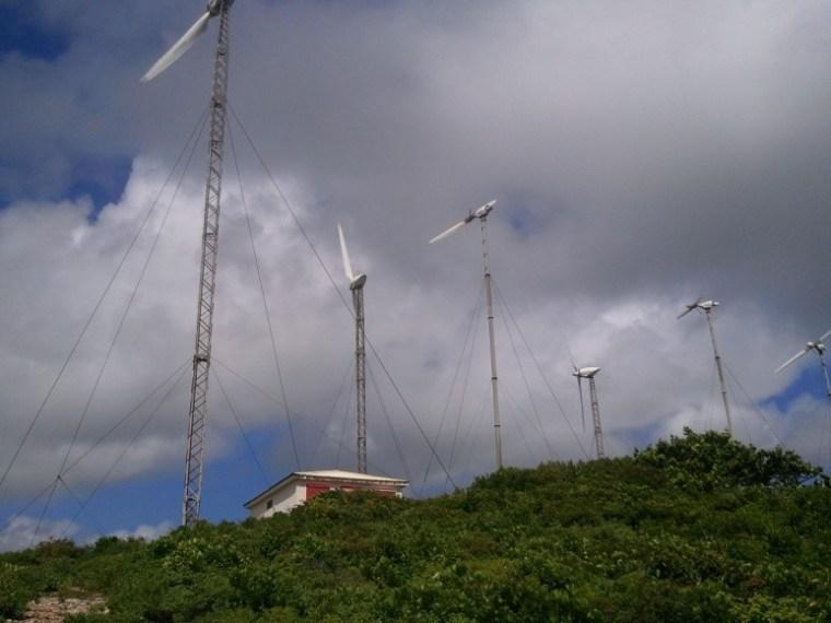 Les éoliennes de Petit-canal