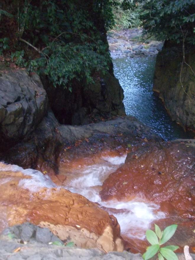 Vue du bassin de la rivière grande plaine