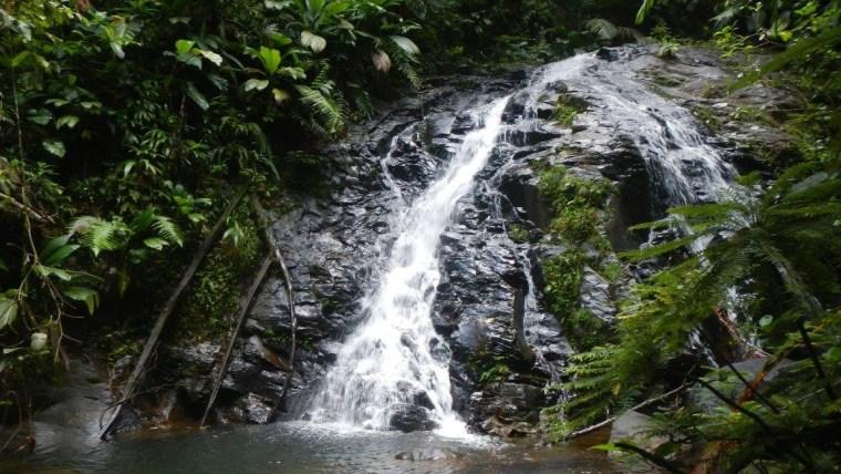 Une des cascades de la petite lézarde